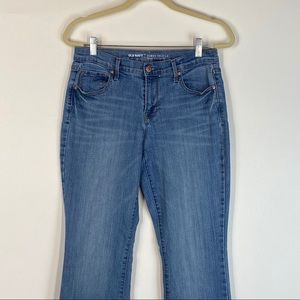 Old Navy Jeans - 📦  Old Navy Curvy Mid Rise Straight Jeans Med